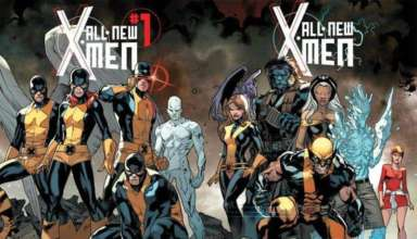 cover of Marvel's ALL-NEW X-MEN #1 written by Brian Michael Bendis