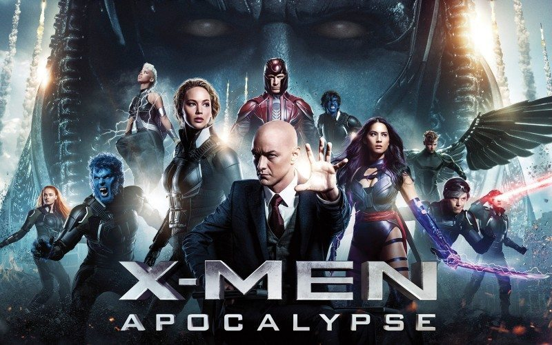x-men: apocalypse film poster