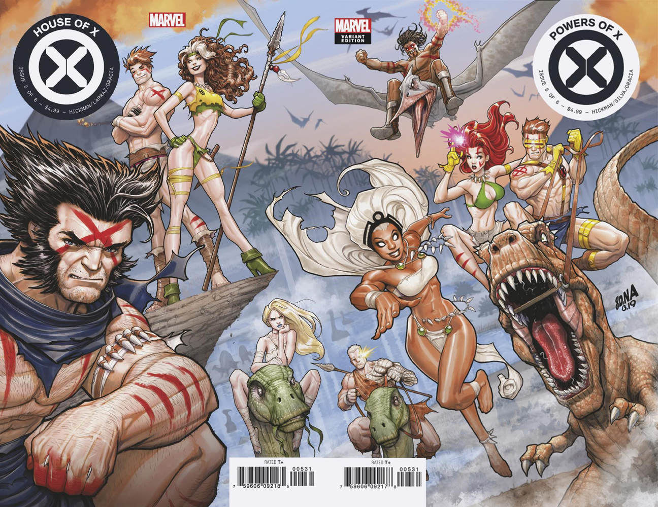 house of x and powers of x 5 cover